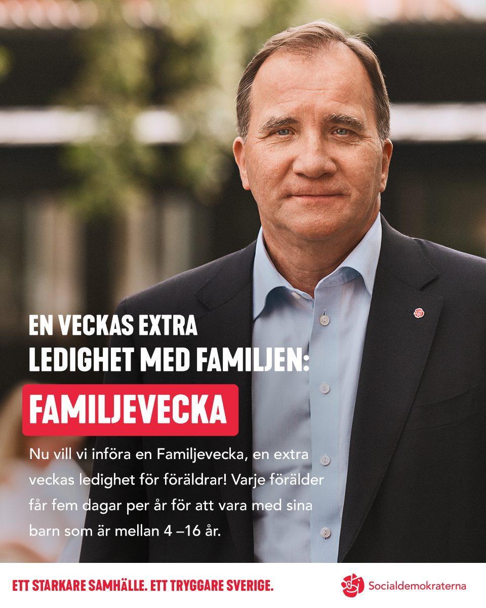 Läs mer  https   www.socialdemokraterna.se  aktuellt 2018 en-extra-veckas-ledighet-for-foraldrar–en-familjevecka  3cf1b0baf3094